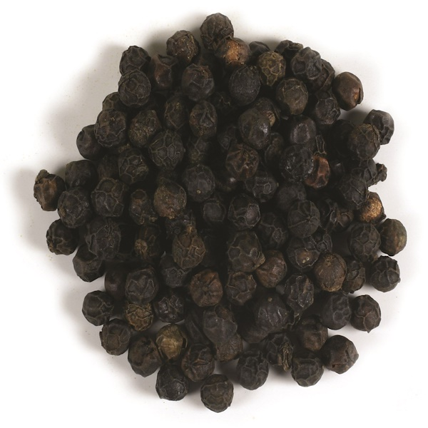 Frontier Natural Products, Organic Whole Black Peppercorns Tellicherry, 16 oz (453 g)