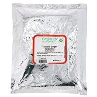 Frontier Natural Products, Certified Organic Turmeric Ginger Herbal Tea, 16 oz (453 g)