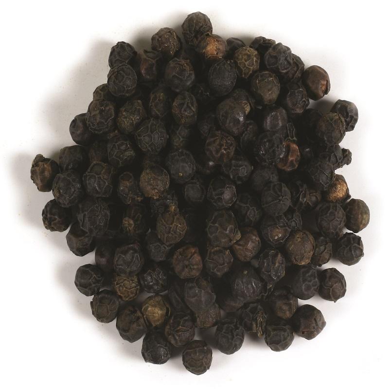 Organic Whole Black Peppercorns, 16 oz (453 g)