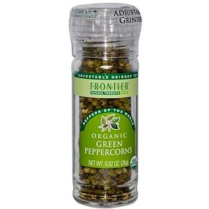 Фронтьер Нэчурал Продактс, Organic Green Peppercorns, 0.92 oz (26 g) отзывы