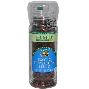 Фронтьер Нэчурал Продактс, Exotic Peppercorn Blend, 1.69 oz (48 g) отзывы