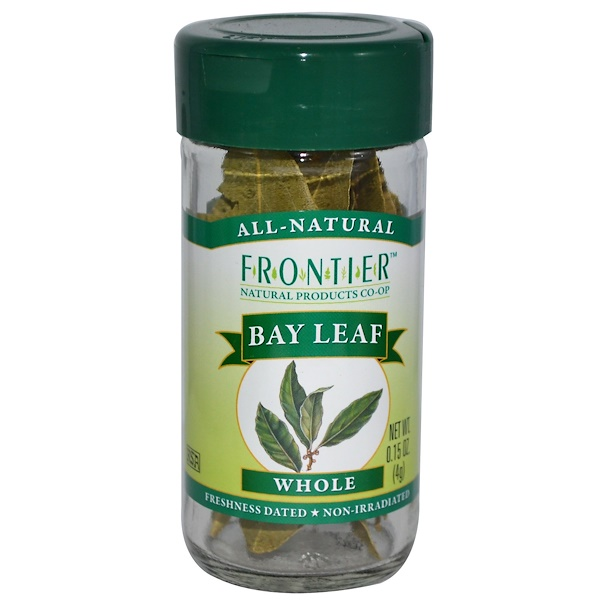 Frontier Natural Products, Bay Leaf, Whole, 0.15 oz (4 g) (Discontinued Item)