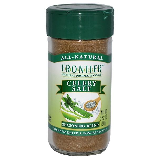 Frontier Natural Products, Celery Salt, Seasoning Blend, 3.52 oz (99 g) (Discontinued Item)