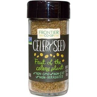Frontier Natural Products, Celery Seed, Whole, 1.83 oz (52 g)