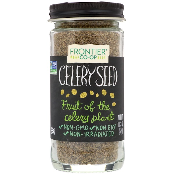Frontier Natural Products, Celery Seed, 1.83 oz (52 g) (Discontinued Item)
