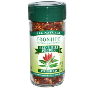 Frontier Natural Products, Red Chili Pepper, Crushed, 1.20 oz (34 g)