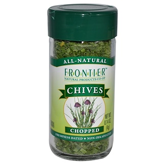 Frontier Natural Products, Chives, Chopped, 0.14 oz (4 g)