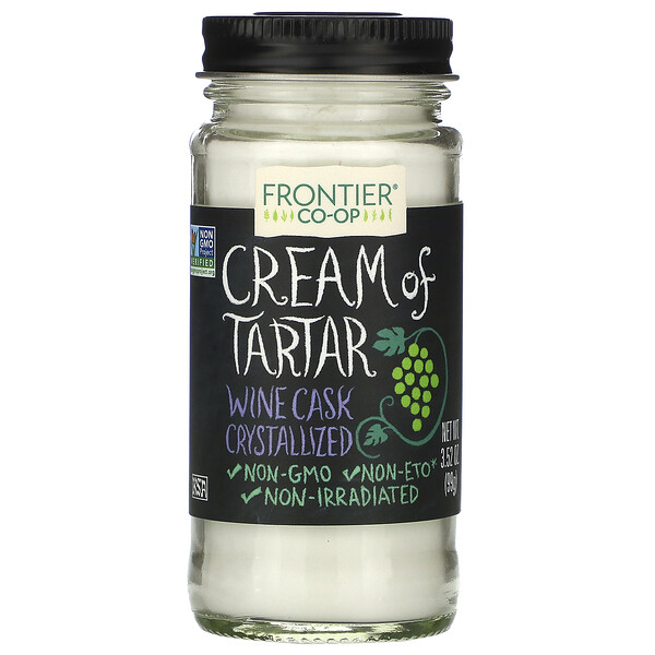 Frontier Natural Products, Cream of Tartar, 3.52 oz (99 g)