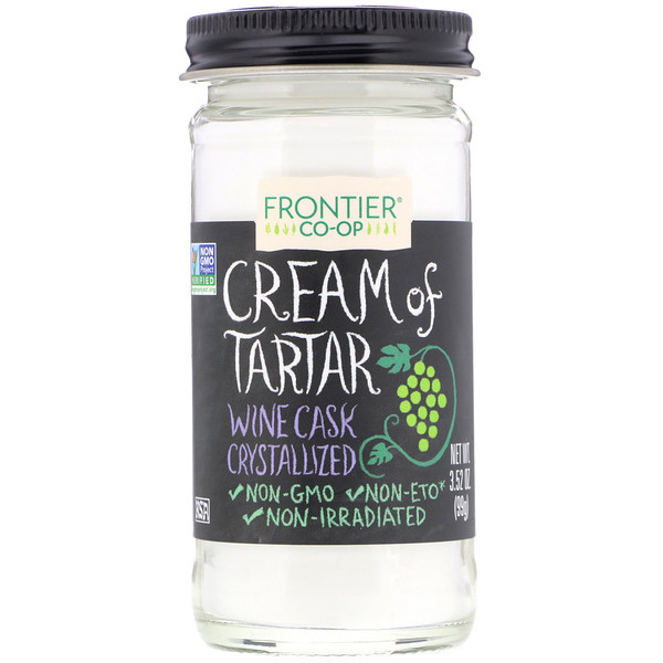 Cream of Tartar, Powder, 3.52 oz (99 g)