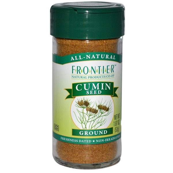 Frontier Natural Products, Тмин, молотый 1.87 унции (53 г) (Discontinued Item)