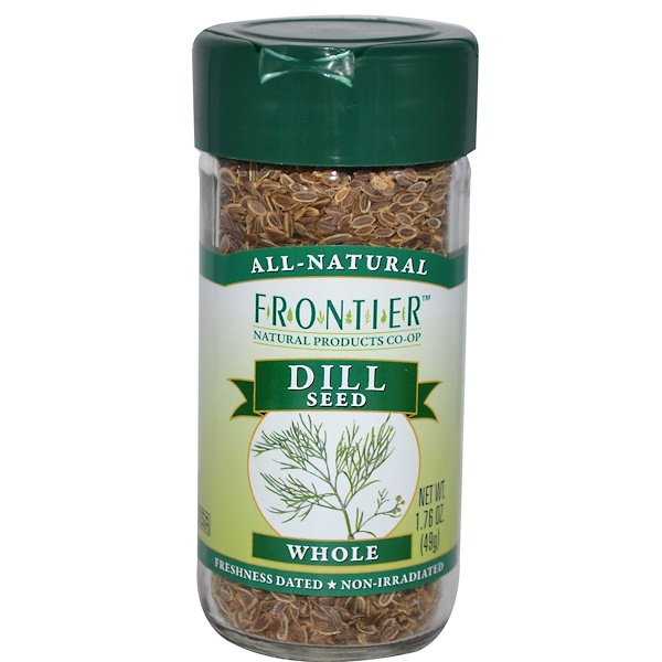 Frontier Natural Products, Dill Seed, Whole, 1.76 oz (49 g) (Discontinued Item)