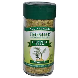 Фронтьер Нэчурал Продактс, Fennel Seed, Whole, 1.41 oz (40 g) отзывы