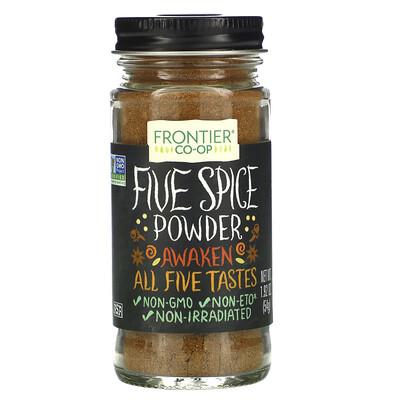 Frontier Natural Products Порошок из пяти специй, 1,92 унции (54 г)