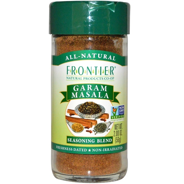 Frontier Natural Products, Garam Masala, Seasoning Blend, 2.0 oz (56 g) (Discontinued Item)