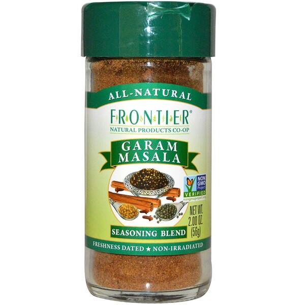 Frontier Natural Products, Garam Masala, Salt-Free Blend, 2 oz (56 g) (Discontinued Item)