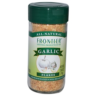 Frontier Natural Products, Garlic, Flakes, 2.64 oz (74 g)