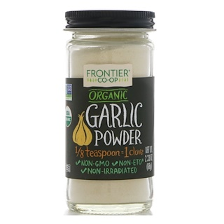 Frontier Natural Products, Organic Garlic Powder, 2.33 oz (66 g)