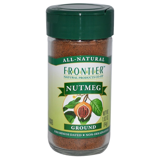 Frontier Natural Products, Nutmeg, Ground, 1.92 oz (54 g) (Discontinued Item)