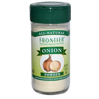 Frontier Natural Products, Cebolla en polvo, 2.08 oz (58 g)