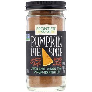 Фронтьер Нэчурал Продактс, Pumpkin Pie Spice, 1.92 oz (54 g) отзывы покупателей