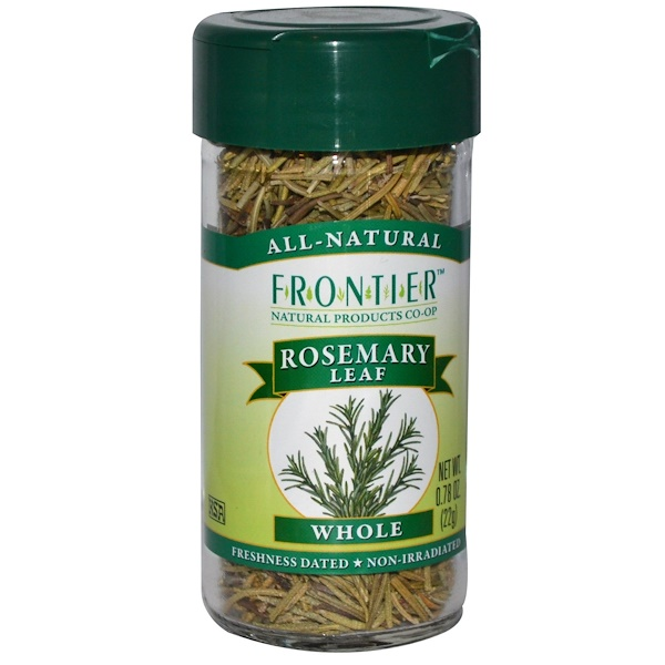 Frontier Natural Products, Цельные листья розмарина 0.78 (22 г) (Discontinued Item)