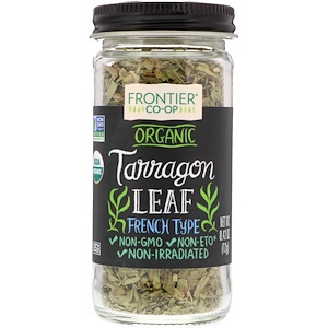 Фронтьер Нэчурал Продактс, Organic, Tarragon Leaf, French Type, 0.42 oz (12 g) отзывы