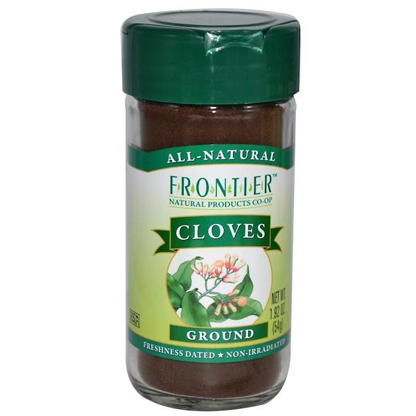 Frontier Natural Products, Гвоздика, молотая 1.92 унции (54 г) (Discontinued Item)
