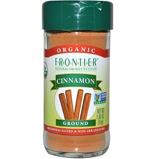 Frontier Natural Products, Органическая корица, молотая 1,9 унции (53 г)