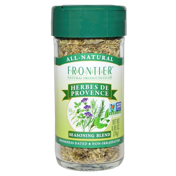 Frontier Natural Products, Herbes De Provence, Seasoning Blend, 0.85 oz (24 g)