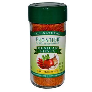 Фронтьер Нэчурал Продактс, Mexican Fiesta, Salt-Free Blend, 2.12 oz (60 g) отзывы