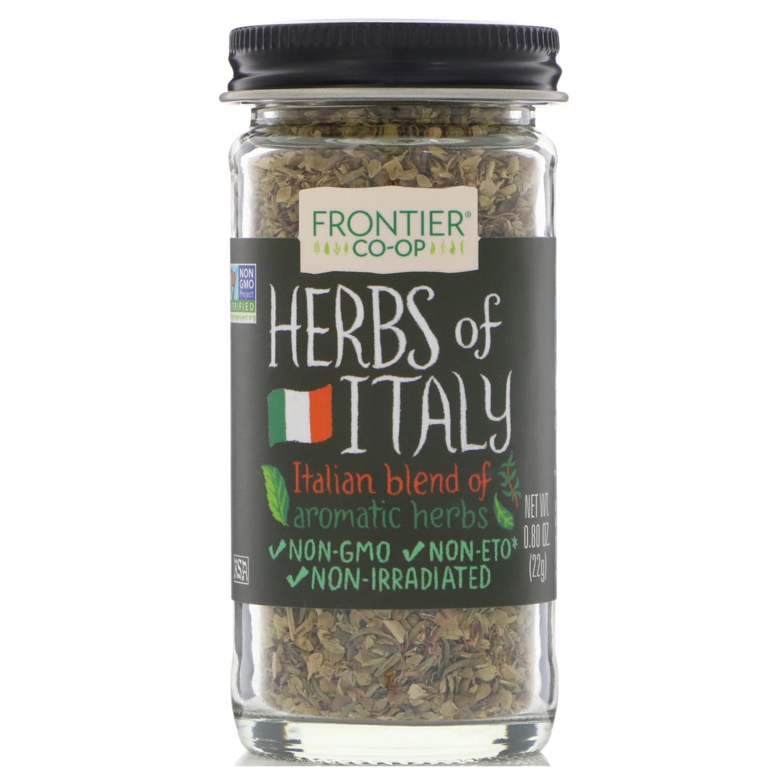 Frontier Natural Products, Травы Италии, смесь приправ, 0,80 унции (22 г)