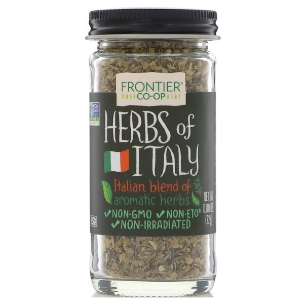 Frontier Natural Products, Herbs of Italy, Italian Blend of Aromatic Herbs, 0.80 oz (22 g)