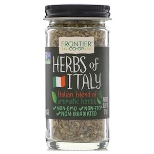 Фронтьер Нэчурал Продактс, Herbs of Italy, Italian Blend of Aromatic Herbs, 0.80 oz (22 g) отзывы покупателей
