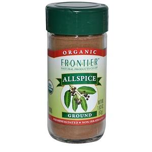 Фронтьер Нэчурал Продактс, Organic Allspice, Ground, 1.83 oz (52 g) отзывы