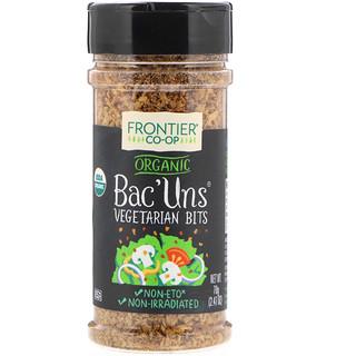 Frontier Natural Products, Organic Bac'Uns, Vegetarian Bits, 2.47 oz (70 g)