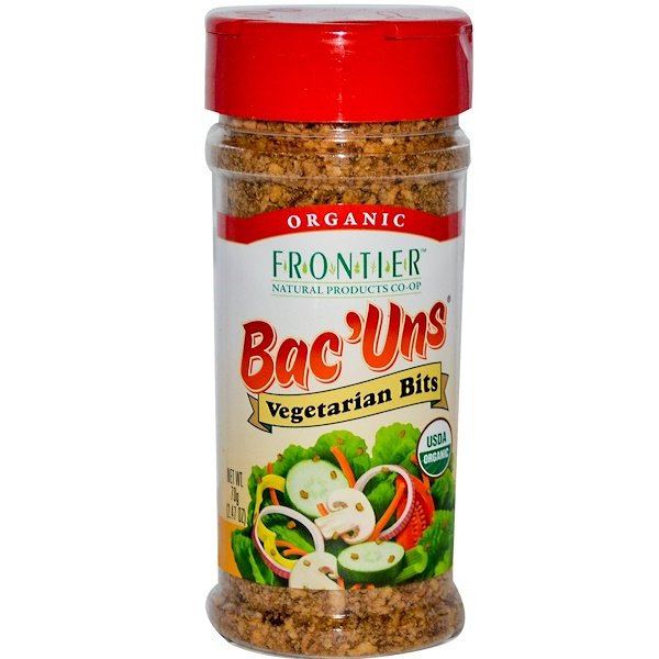 Frontier Natural Products, Organic Bac'Uns, Vegetarian Bits, 2.47 oz (70 g)