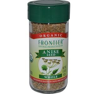 Фронтьер Нэчурал Продактс, Organic Anise Seed, Whole, 1.50 oz (42 g) отзывы