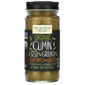Фронтьер Нэчурал Продактс, Organic Cumin Seed, Ground, 1.76 oz (50 g) отзывы