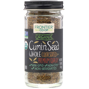 Фронтьер Нэчурал Продактс, Organic Cumin Seed, Whole, 1.68 oz (47 g) отзывы