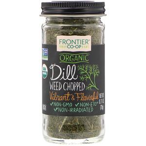 Фронтьер Нэчурал Продактс, Organic Dill Weed, Chopped, 0.71 oz (20 g) отзывы