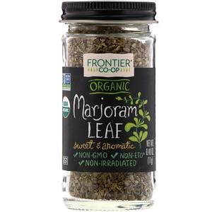 Фронтьер Нэчурал Продактс, Organic Marjoram Leaf, Flakes, 0.40 oz (11 g) отзывы