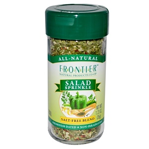 Фронтьер Нэчурал Продактс, Salad Sprinkle, Salt-Free Blend, 1.23 oz (35 g) отзывы