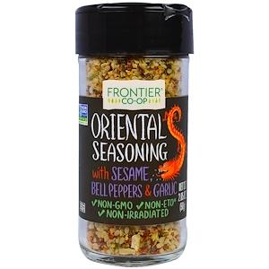 Фронтьер Нэчурал Продактс, Oriental Seasoning With Sesame, Bell Peppers & Garlic, 2.05 oz (58 g) отзывы
