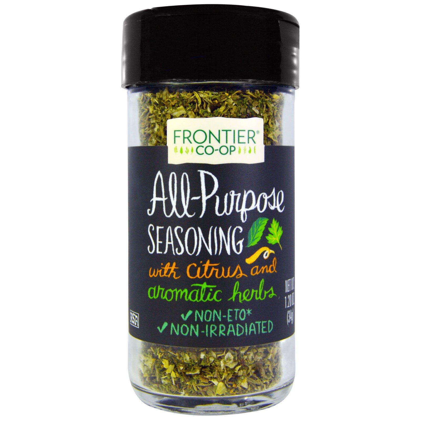 Frontier Natural Products, Универсальная приправа, с цитрусом и ароматными травами, 1,20 унции (34 г)