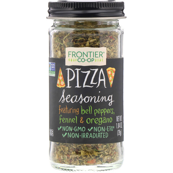 Frontier Natural Products, Condimento para pizza, 1,04 oz (29 g)