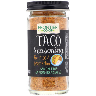 Frontier Natural Products, Taco Seasoning, 2.33 oz (66 g)