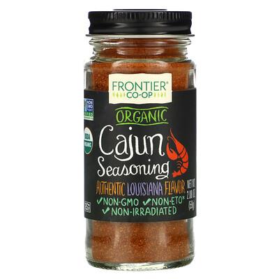 Frontier Natural Products Органическая каджунская приправа, луизианский вкус, 59г (2,08 унции)