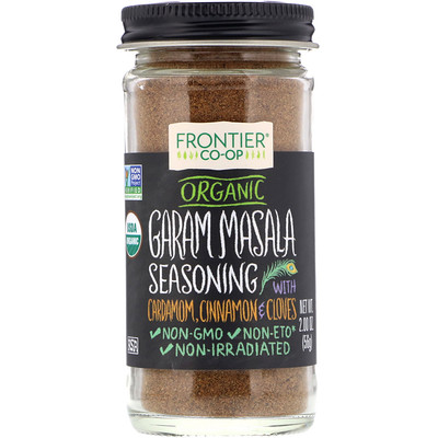 Organic Garam Masala Seasoning with Cardamon, Cinnamon & Cloves, 2.00 oz (56 g)