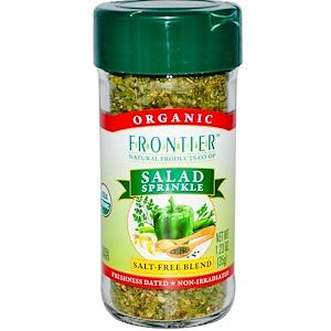 Фронтьер Нэчурал Продактс, Organic Salad Sprinkle, Salt Free Blend, 1.23 oz (35 g) отзывы