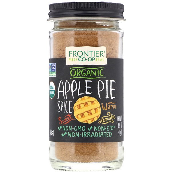 Frontier Natural Products, Organic, Apple Pie Spice, 1.69 oz (48 g)